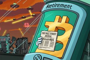 Bitcoin IRA for retirement portfolio