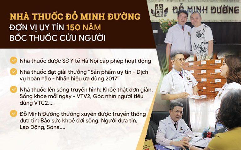 Đỗ Minh Đường - Đơn vị uy tín với 150 năm hành y cứu người