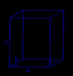 объем прямоугольного параллелепипеда  площадь боковой поверхности прямоугольного параллелепипеда площадь полной поверхности прямоугольного параллелепипеда