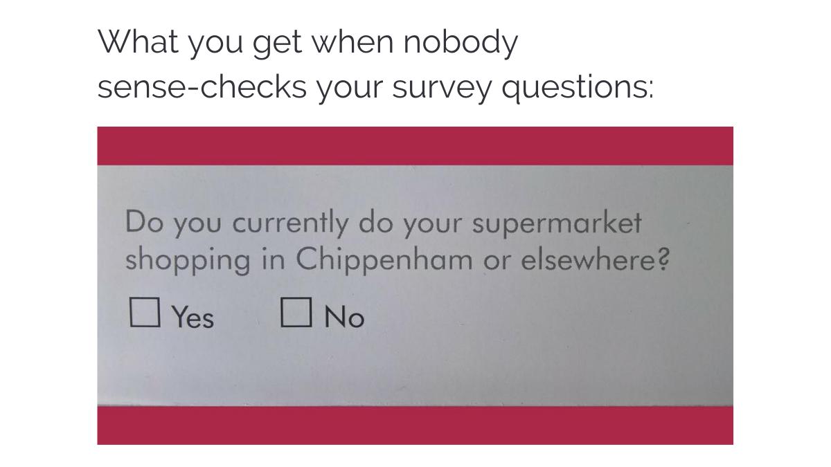 bad survey questions
