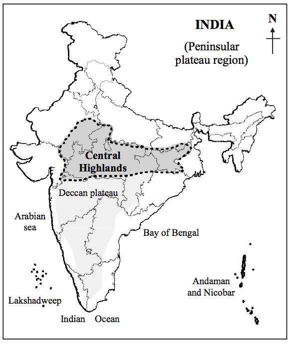 CENTRAL HIGHLANDS OF INDIA PDF DOWNLOAD