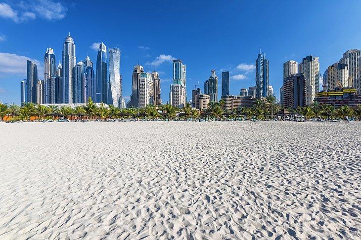 Plage de Jumeirah Open Beach à Dubaï
