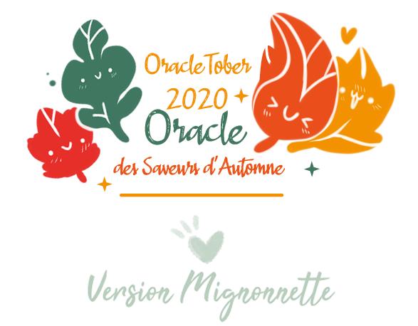 Oracle Saveurs d'Automne version Mignonnette a imprimer dans • Oracles et Tarots