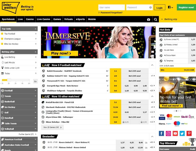 БК Interwetten: реальные отзывы и детальный обзор