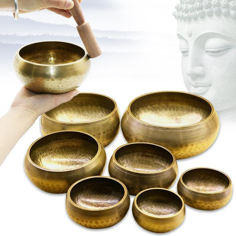 Tibetan Buddhist Nepal Meditation Bowl