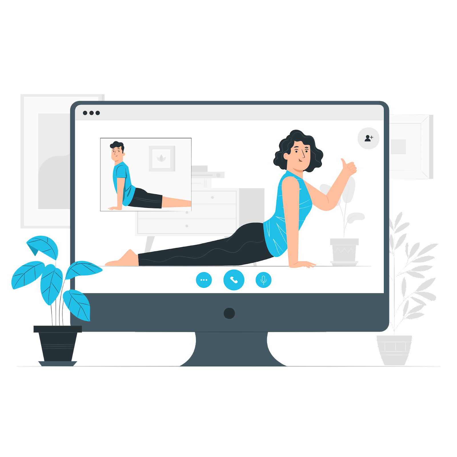 Online-Fitness-events