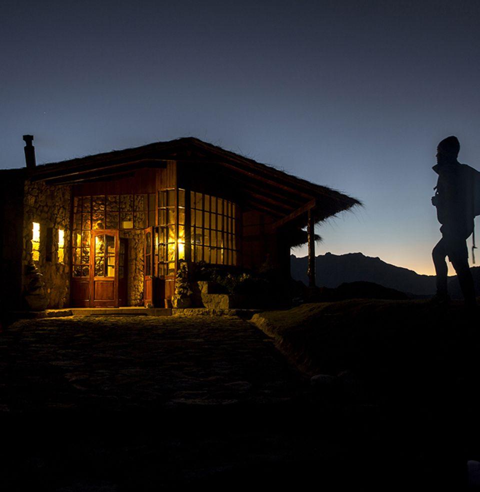 A grande experiência andina