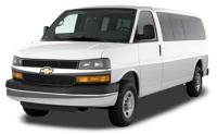 transportation van from Calgary to Lake Louise for10-13 passengers