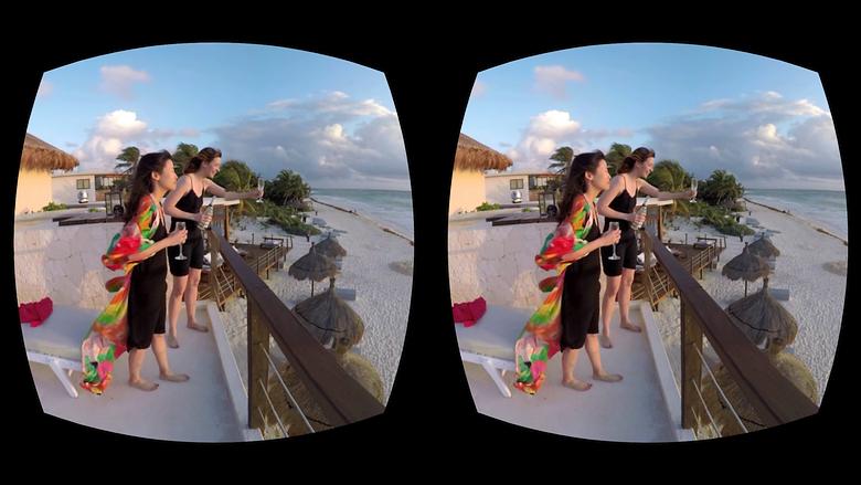 Виртуальность в очках GearVR (изображение: vrscout.com).