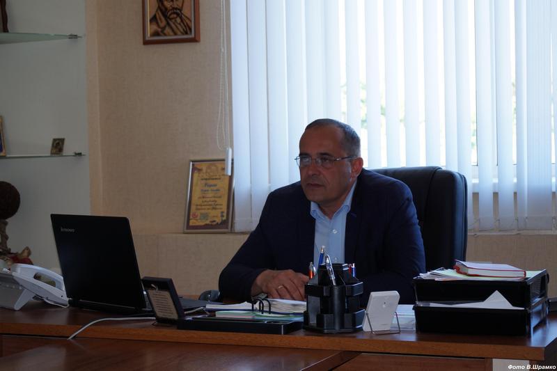 Віктор Радько, міський голова Лохвиці