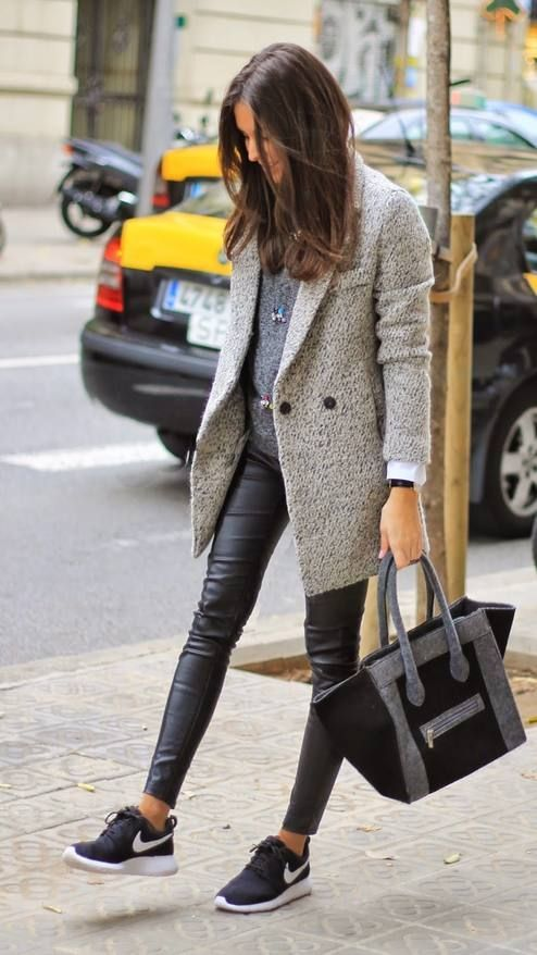 Outfit leggings turnschuhe