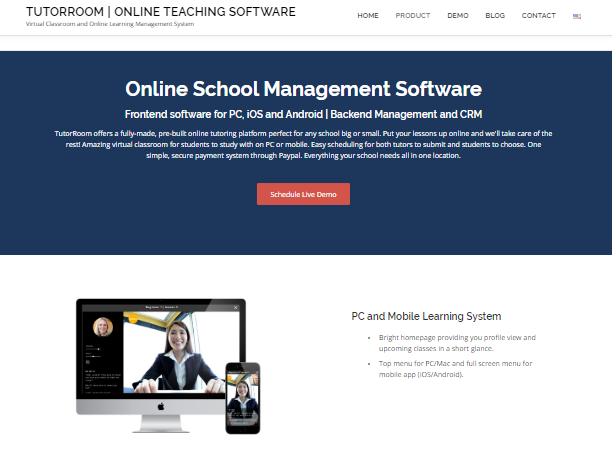 Learning Management System - tutorroom