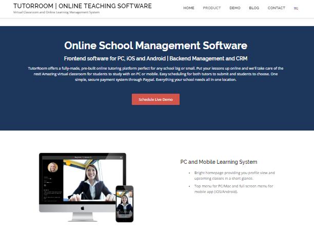 Learning Management System - tutorroom