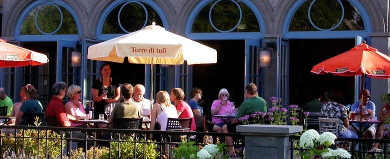 Summer at Caffe Dolce, Missoula, MT