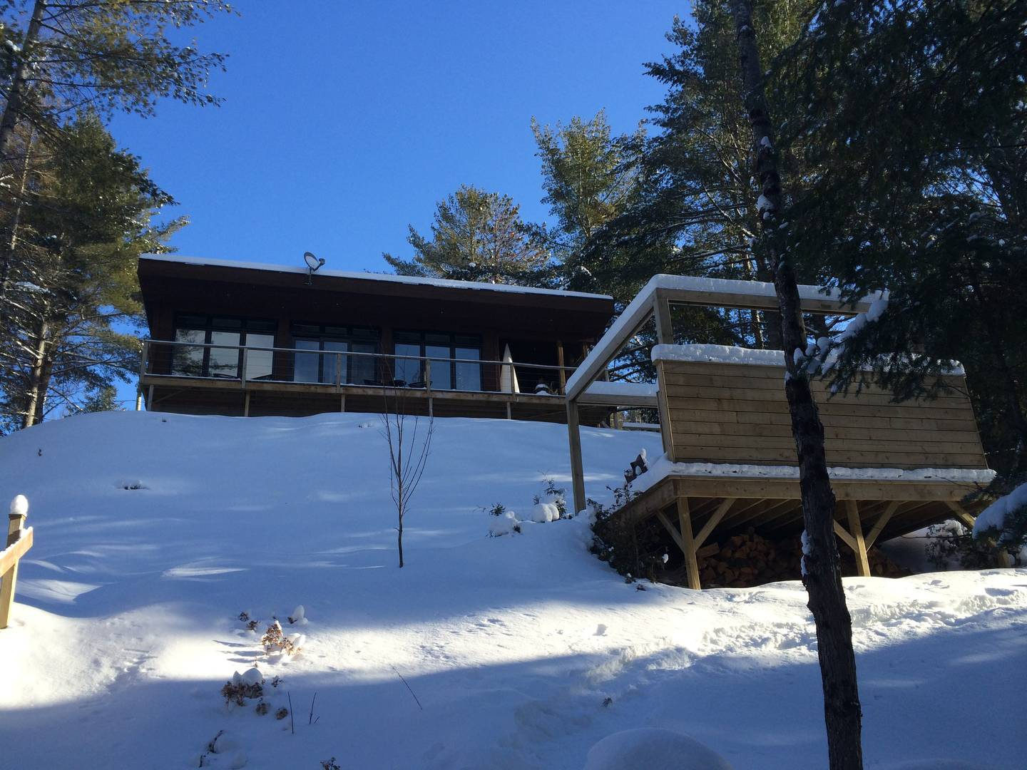 Cottages for rent near a ski mountain in Lanaudiere #2