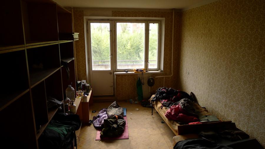 В сталкерской квартире. Фото: Игорь Хомич
