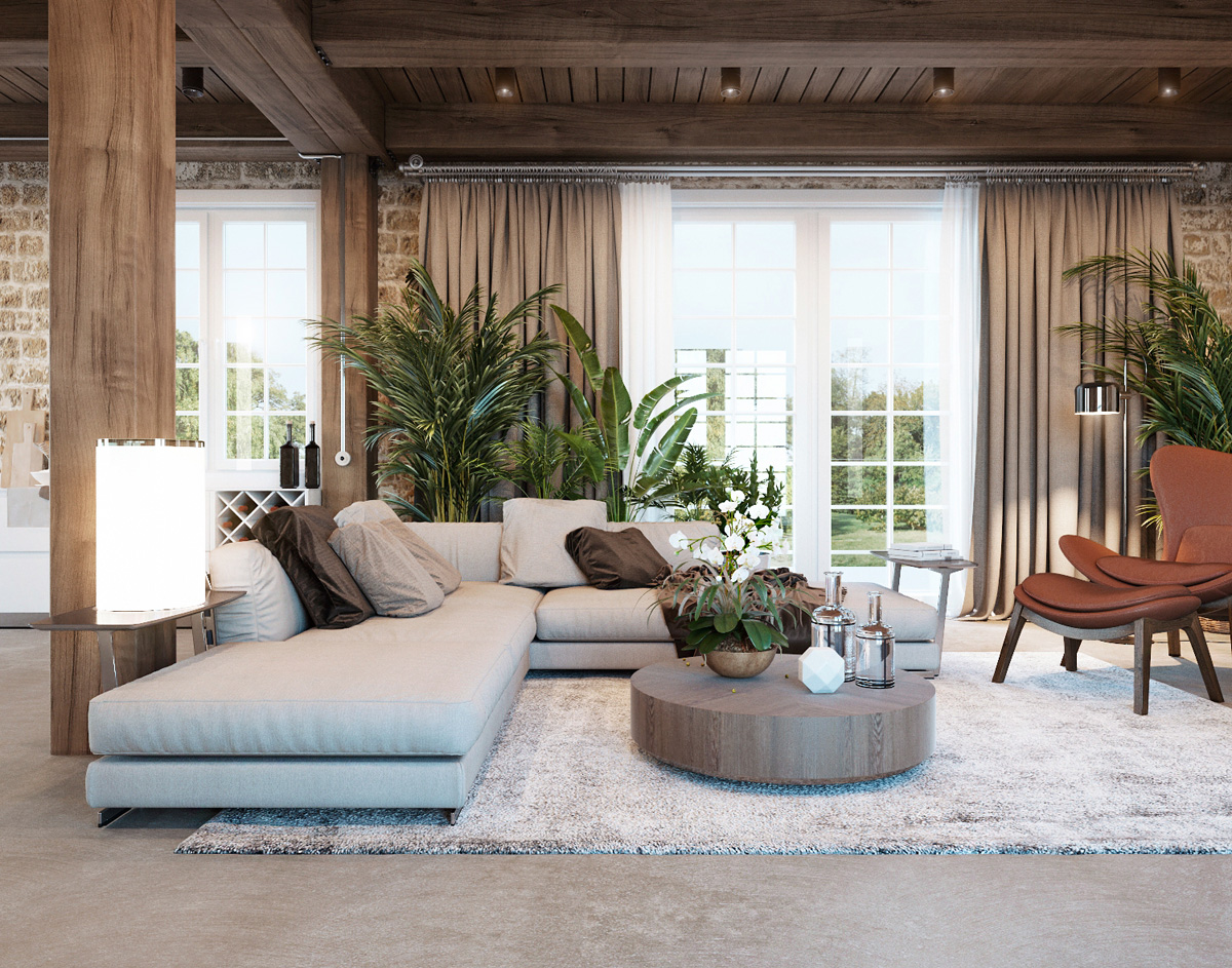 Desain mediteranian memiliki desain yang tak lekang waktu - source: home-designing.com