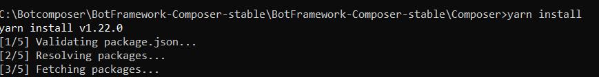 learn Bot Framework Composer