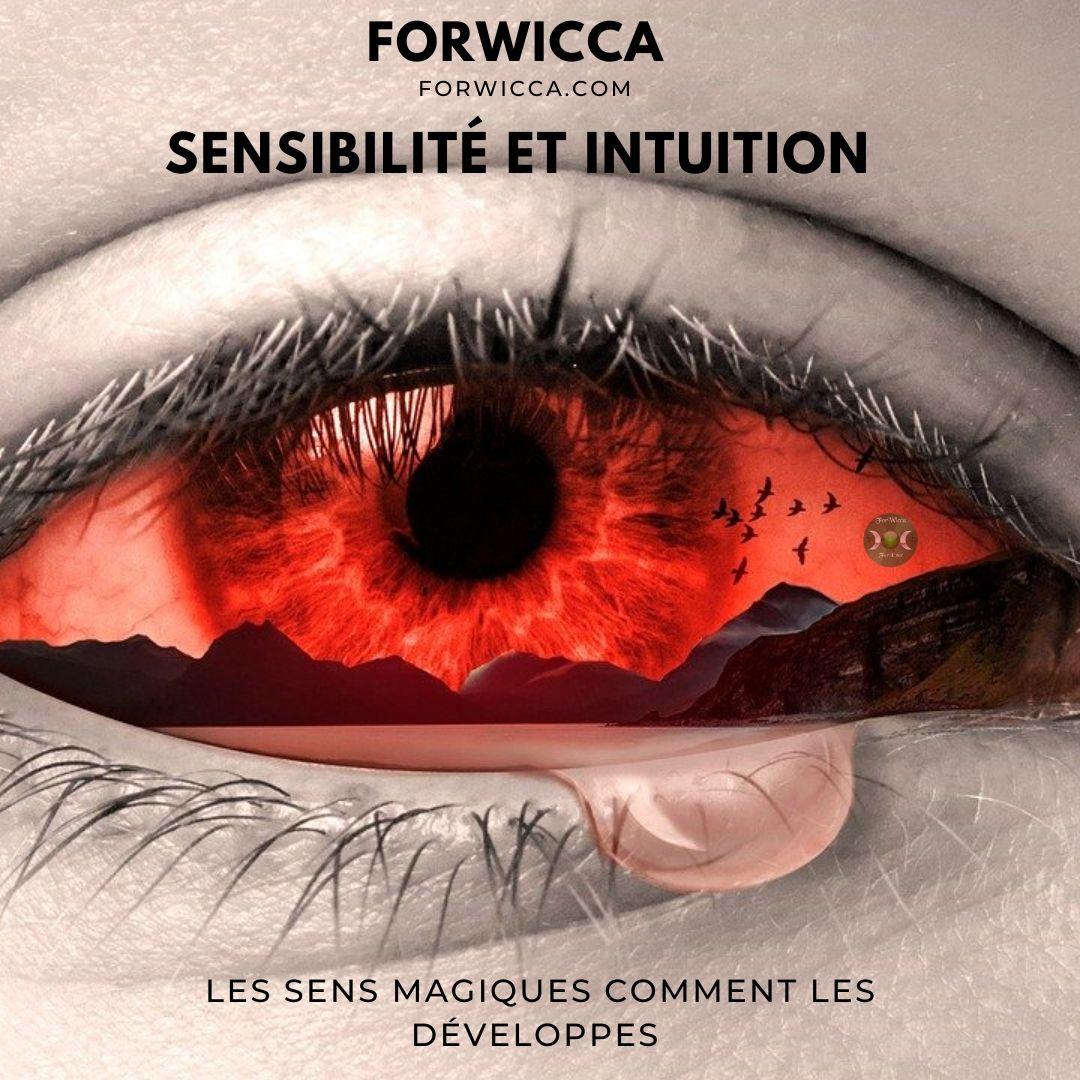 œil rouge avec une larme au coin de forwicca