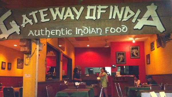 gateway of india restaurant