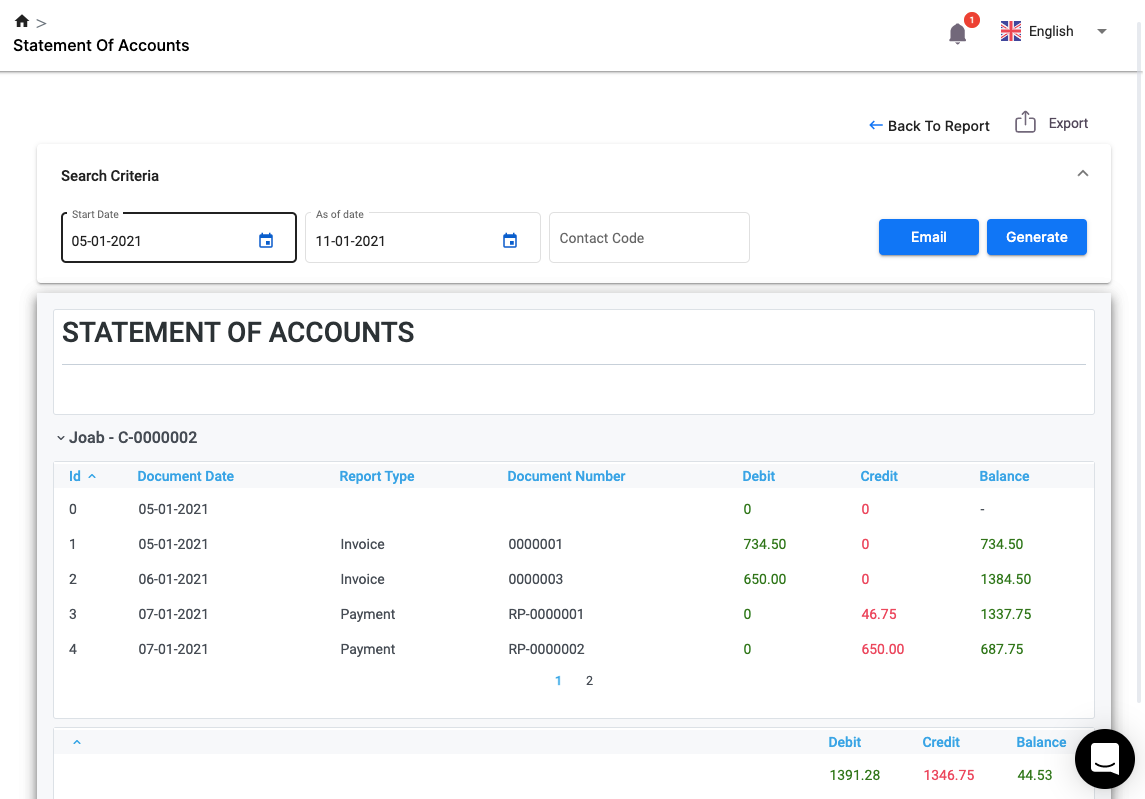 Send Statements of Account With Ease Using Deskera