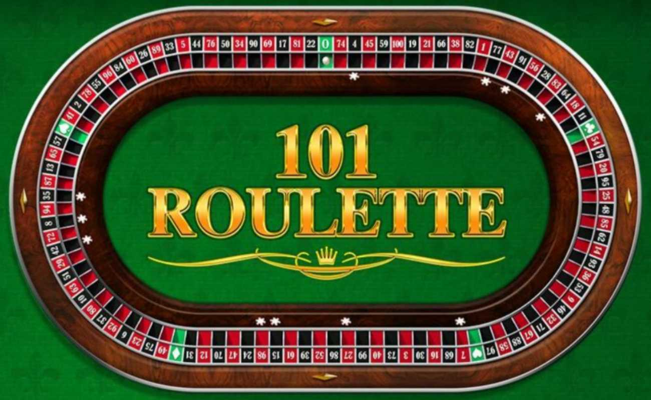 101 Roulette by Playtech online slot casino game