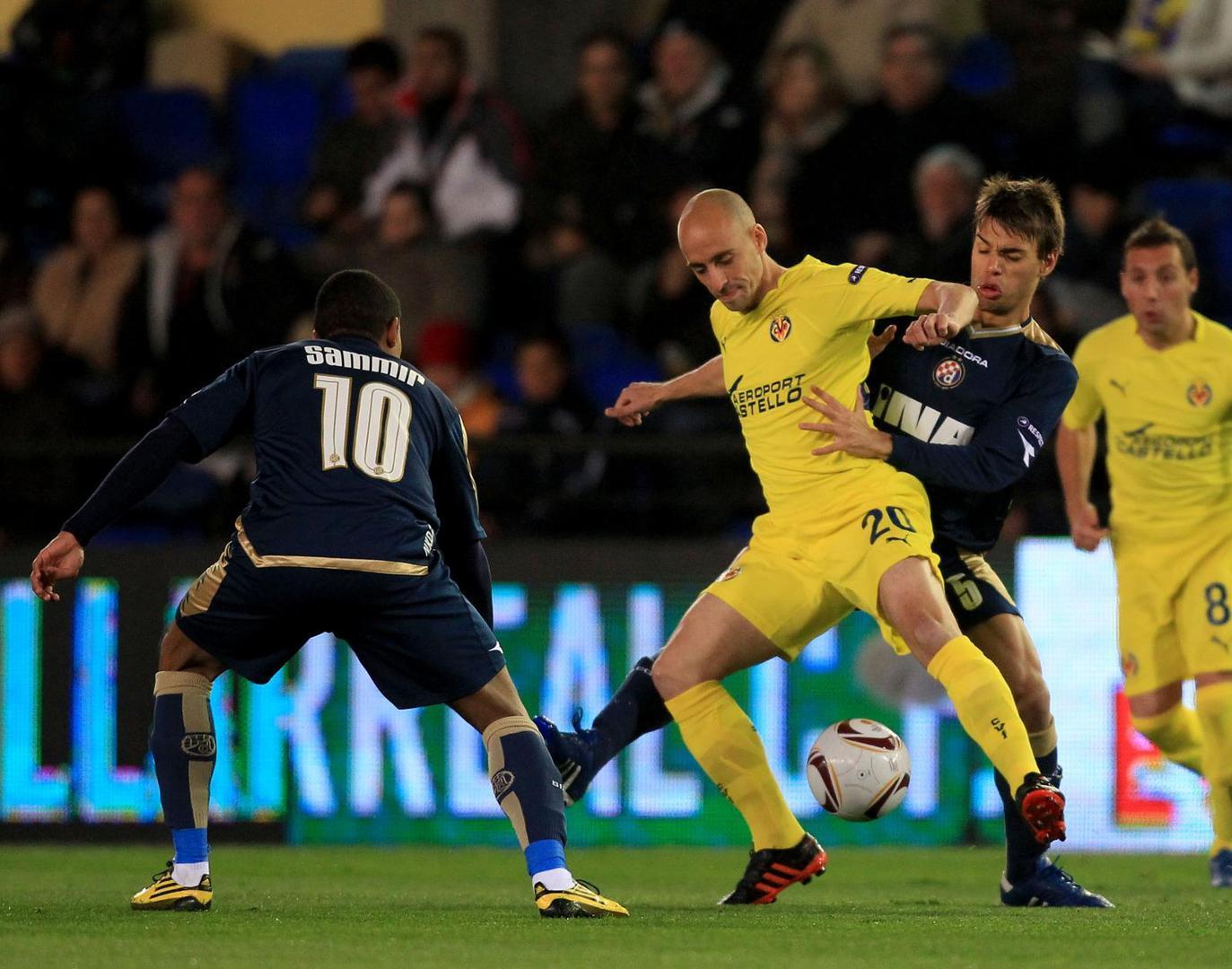 Dinamo Zagreb từng thắng Villarreal trên sân nhà ở Europa League 2010/2011
