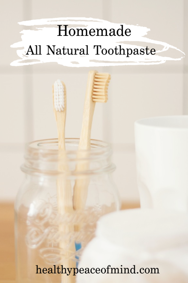 Healthy Peace of Mind All Natural Toothpaste Pinterest