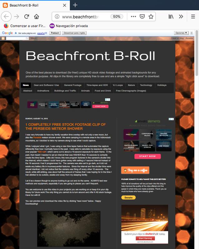 bancos de videos gratuitos beachfront b roll
