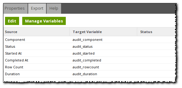 Populating an Audit Table