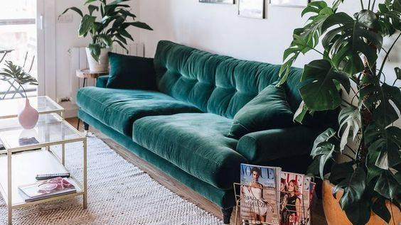 Bạn muốn có một chiếc ghế sofa nỉ nhưng vẫn còn nghi ngờ? Dưới đây là cách giới thiệu nó trong phòng khách