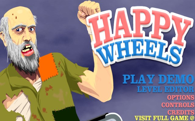 happy wheels dem o
