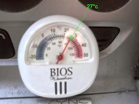 27°C - Dashboard