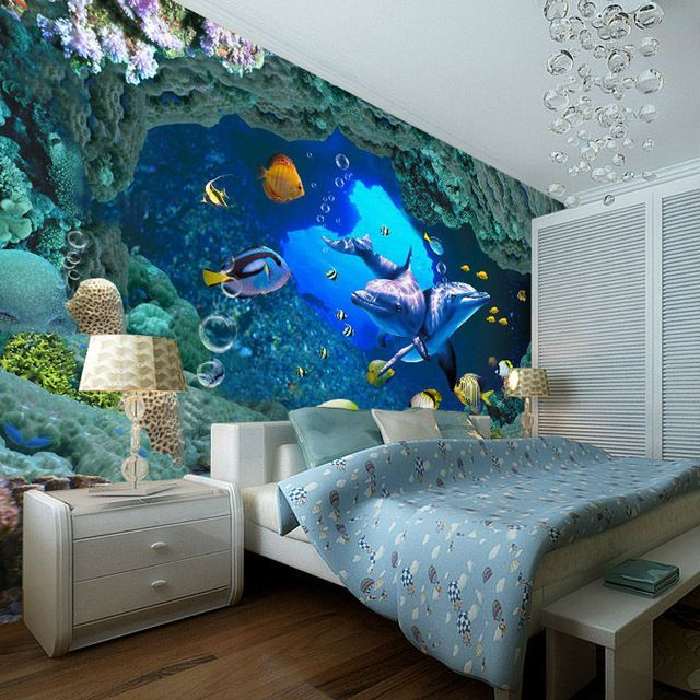 Fish-adorned Wallpaper