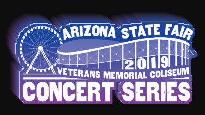 the logo for the Arizona State Fair Concert Series