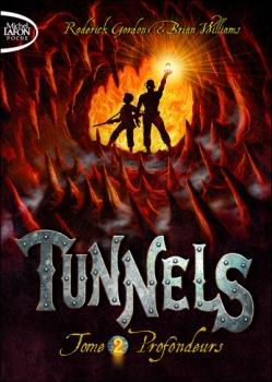 Couverture du roman tunnels t2