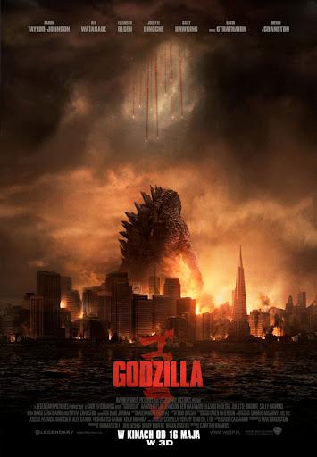 Polski plakat filmu 'Godzilla'