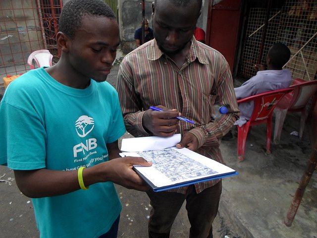 Mapping in process in Dar es Salaam CREDIT: Ramani Huria