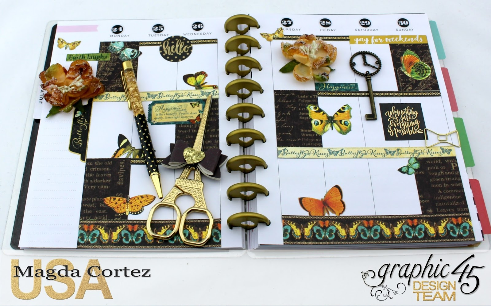 My JULY G45 Planner, Nature Sketchbook By Magda Cortez, Product by G45, Photo 18 of 20.jpg