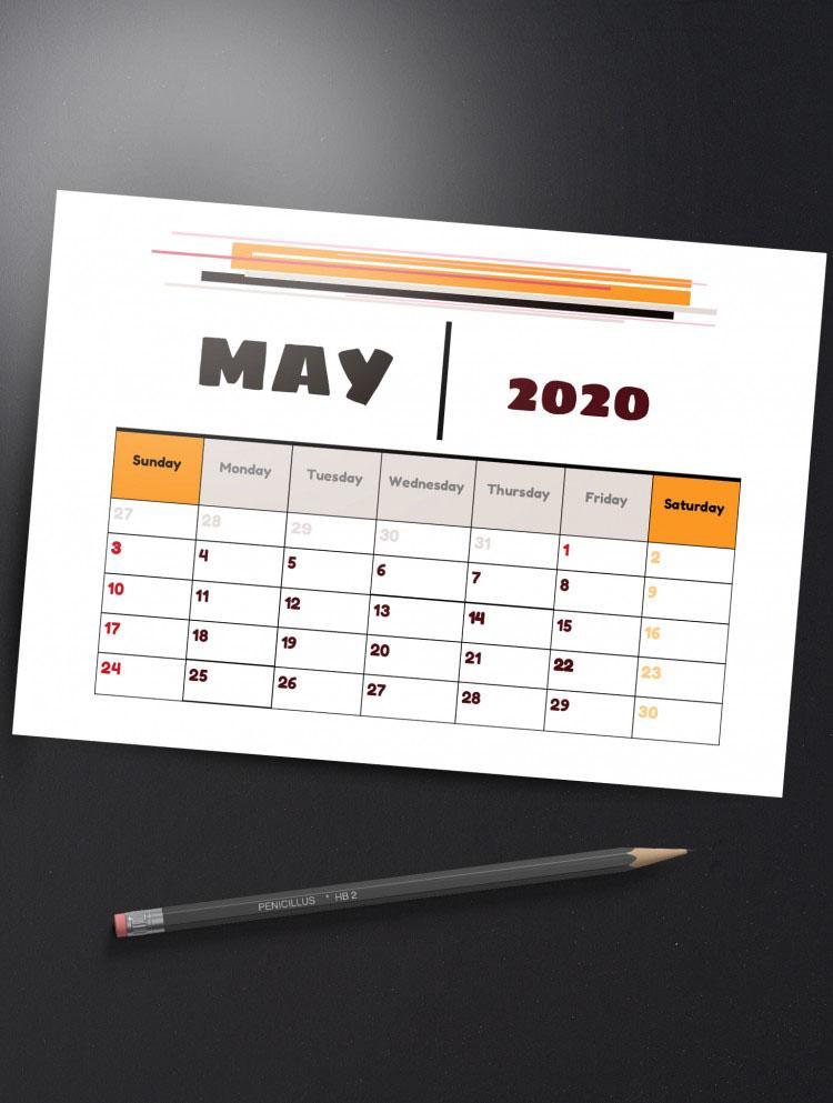 E:\статьи\Декабрь 30+ Free Calendar Templates In Google Docs\Preview_may.jpg