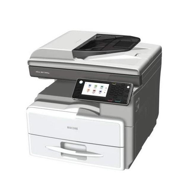 Máy photocopy RICOH MP 301 có tốc độ photocopy 30 trang/phút