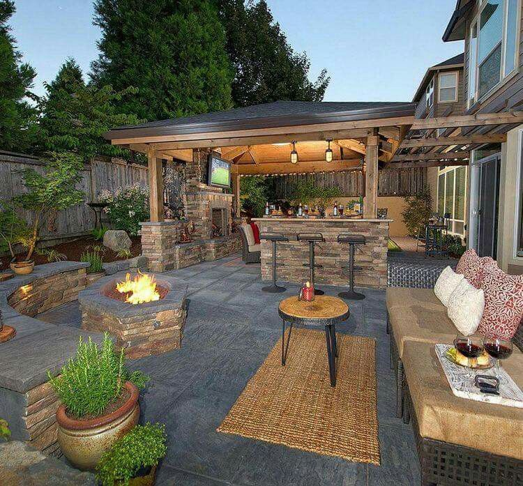 Building an Outdoor Kitchen Decorating Trends in Your Backyard 1