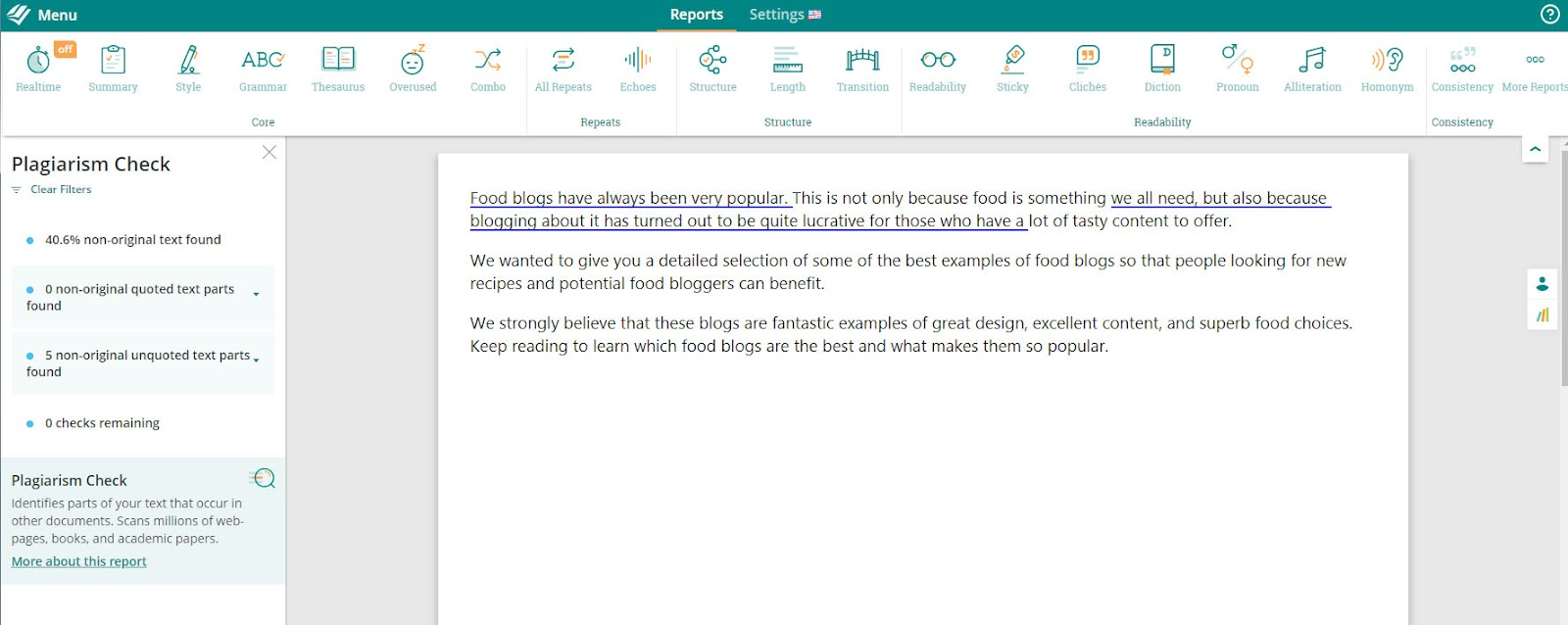 prowritingaid plagiarism checker