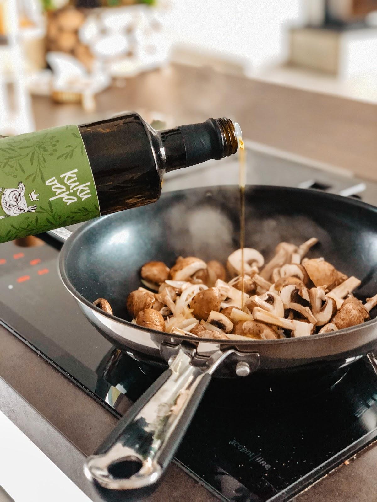 Kann ich natives Olivenöl zum Braten nutzen?