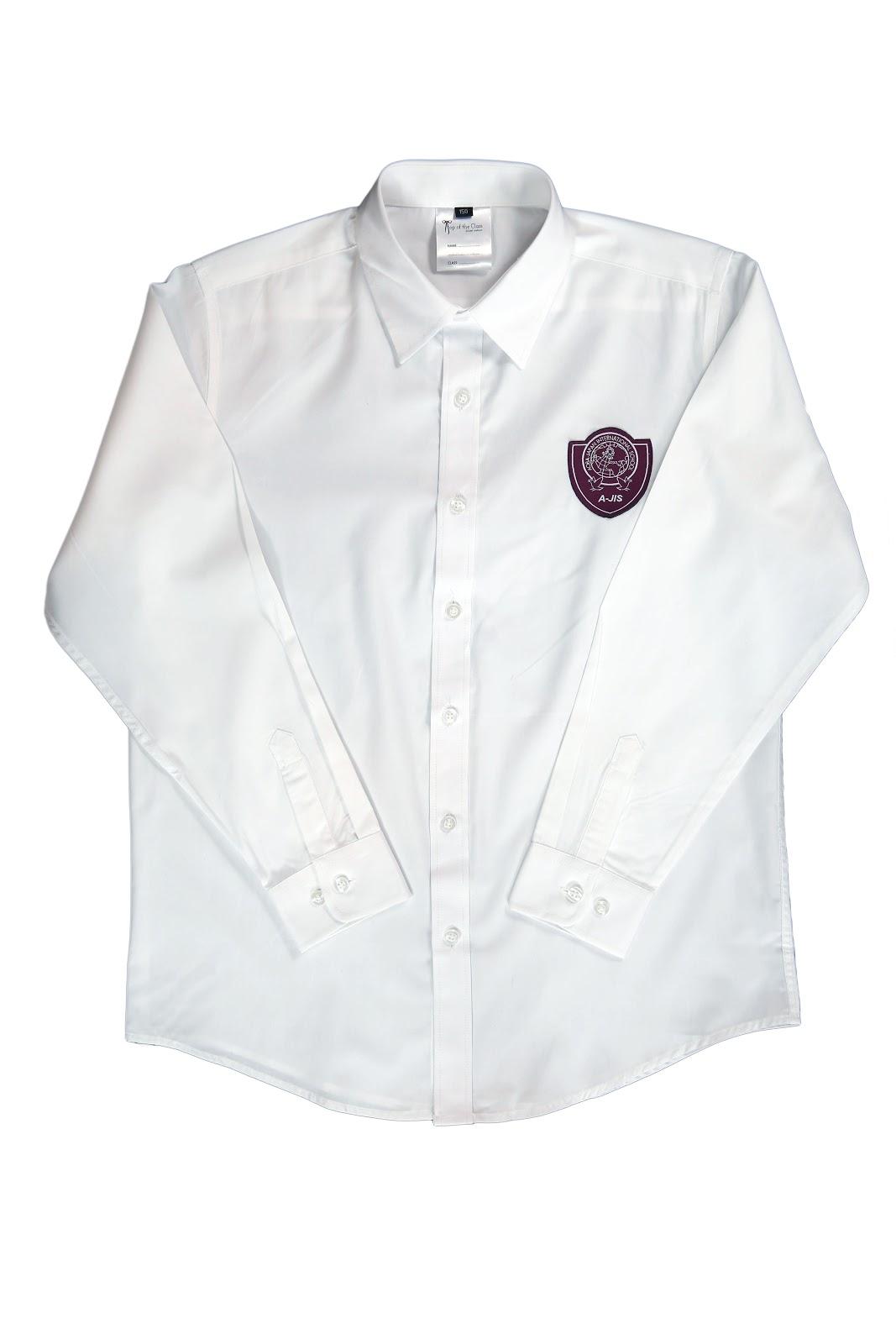School Uniform  (AJIS Girls White Long Sleeve Shirt).jpg