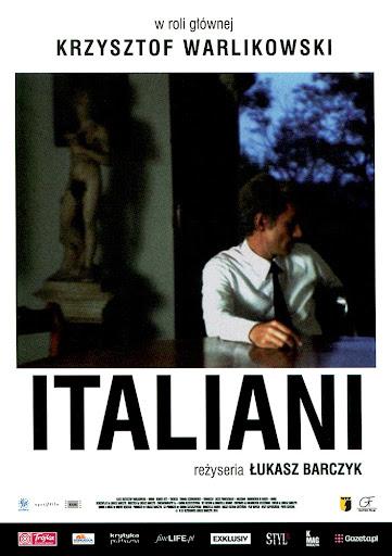 Przód ulotki filmu 'Italiani'