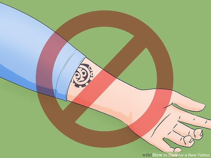 5. สวมเสื้อผ้าหลวมๆ เพื่อลดการเสียดสีของรอยสักของคุณ