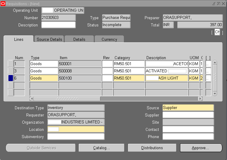 An ORACLE APPS Blog: Autocreate Creates Purchase Order With Same Line  Number As In Requisition