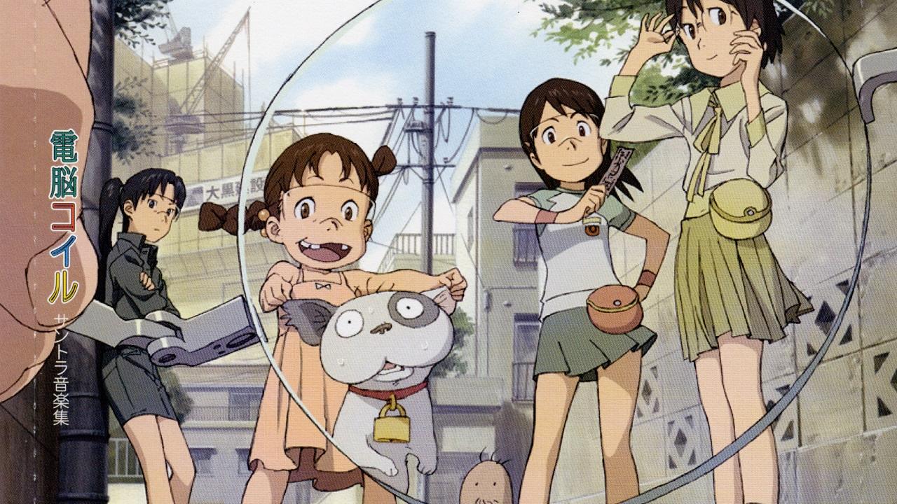 Кадр из аниме «Кибер-виток», режиссёр Мицуо Исо