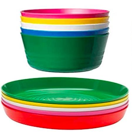 IKEA Kalas bowl and plate set